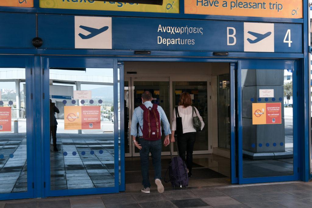 ΥΠΑ: «Βουτιά» 70% της επιβατικής κίνησης στα ελληνικά αεροδρόμια το οκτάμηνο του 2020