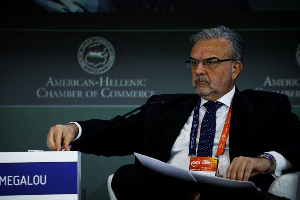 Ο διευθύνων σύμβουλος της Πειραιώς Χρήστος Μεγάλου κρατάει την παράδοση Βγενόπουλου