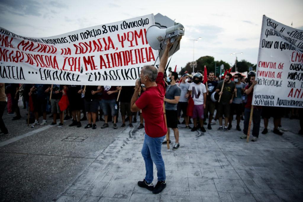 Η ΑΝΤΑΡΣΥΑ καλεί στη διαδήλωση της Καμάρας σήμερα ενόψει ΔΕΘ
