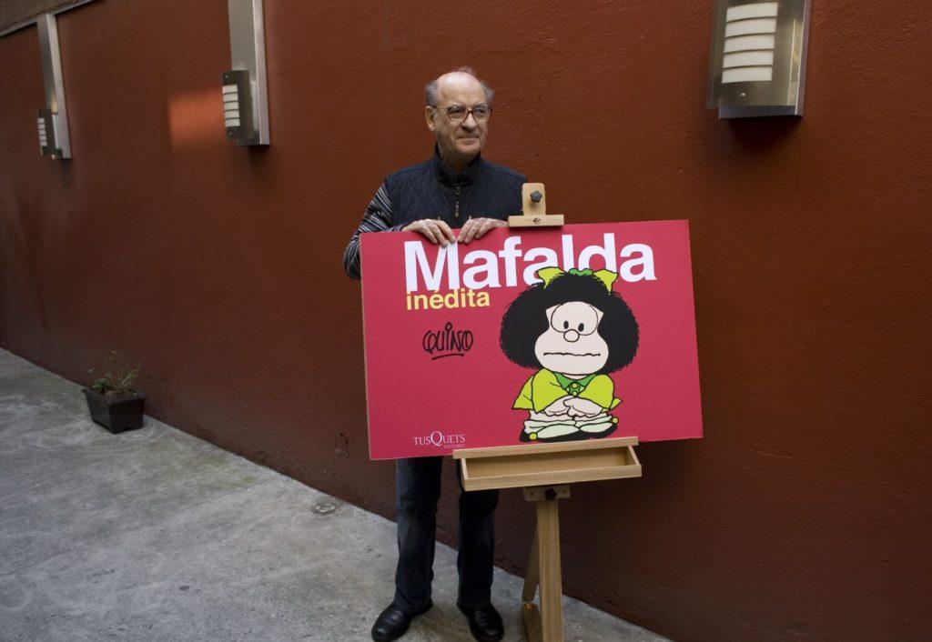 Πέθανε ο σπουδαίος Quino, «πατέρας» της Μαφάλντα