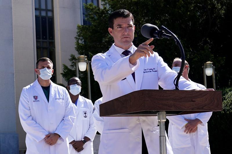 «Ο πρόεδρος είναι πολύ καλά», δήλωσε ο γιατρός του Λευκού Οίκου