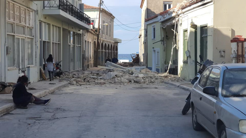 Πώς καλύπτει ο διεθνής Τύπος τον σεισμό στα ανοιχτά της Σάμου