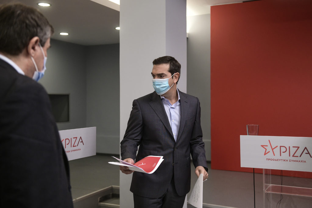 Οι δύο όροι που ζήτησε ο Αλέξης Τσίπρας για κοινό υπουργό Υγείας  (Photos – Video)