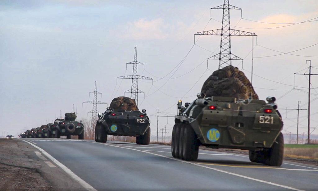 Ναγκόρνο-Καραμπάχ: Αναπτύσονται οι πρώτες ρωσικές ειρηνευτικές δυνάμεις – Συλλήψεις στην Αρμενία