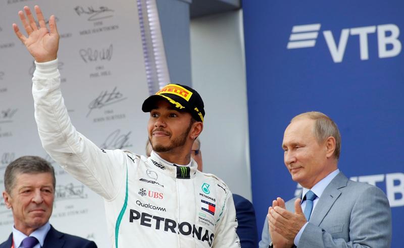 Φόρμουλα Ένα: Ο Χάμιλτον νίκησε στη Ρωσία και καπάρωσε τον τίτλο