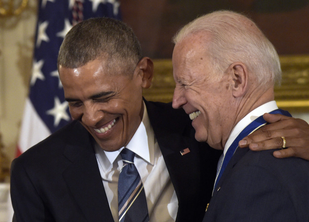 Ο Ομπάμα άσος στο μανίκι του Μπάιντεν