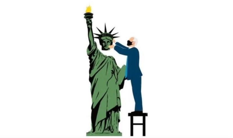 Spiegel: Η ελευθερία αποκαταστάθηκε στην Αμερική