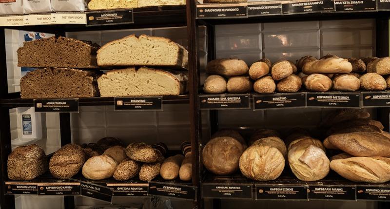 Ψωμί Λεγραινών από τη φίρμα Μαρινάκη