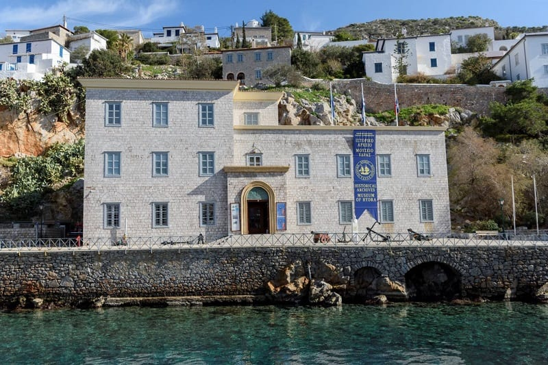 «Πέντε ζωγράφοι στην Ύδρα»- Συζήτηση με τη διευθύντρια του Ιστορικού Μουσείου Ύδρας, Ντίνα Αδαμοπούλου