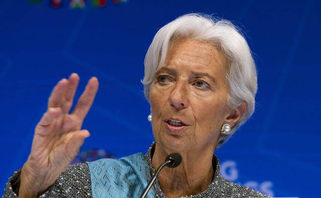 Λαγκάρντ: Η στήριξη της ΕΚΤ στο ευρώ «δεν έχει όριο»