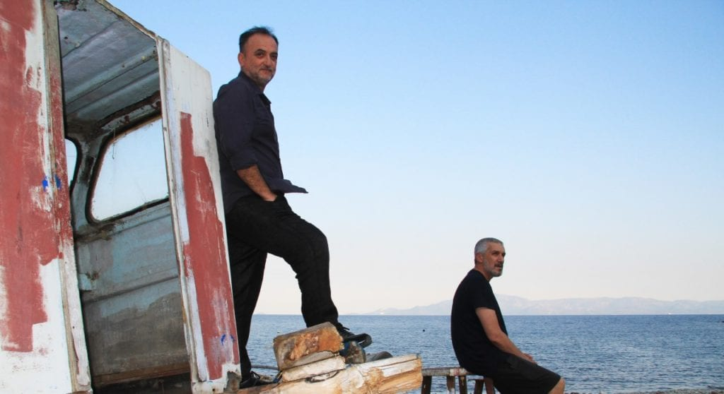 Ο Θοδωρής Γκόνης και ο Άρης Λεμπεσόπουλος για την αποκάλυψη του Οδυσσέα στα καρνάγια
