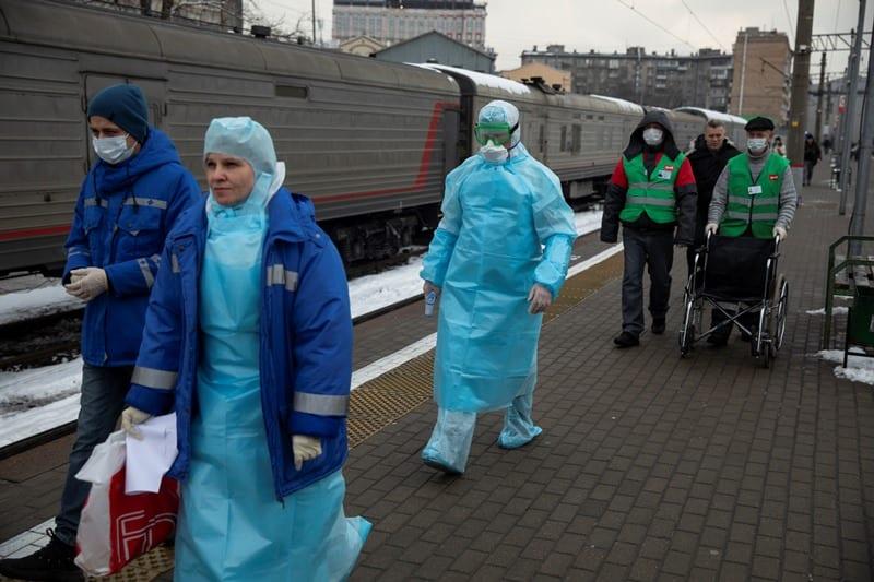 Ο πρώτος θάνατος από κορονοϊό στη Ρωσία