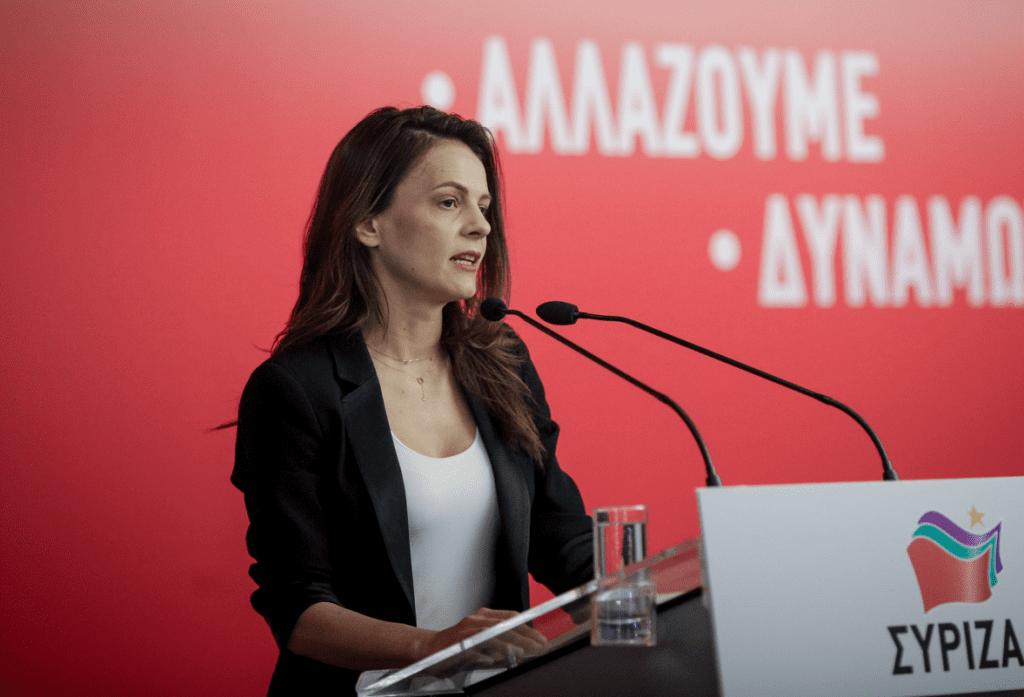 Αχτσιόγλου: «Έκρηξη απολύσεων και ανεπαρκή μέτρα από την κυβέρνηση»