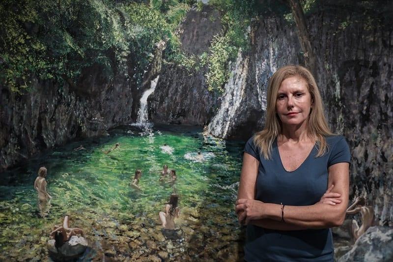 Η ζωγράφος Μαρία Φιλοπούλου στο Docville: Εμπειρία αυτογνωσίας με το νερό κυρίαρχο
