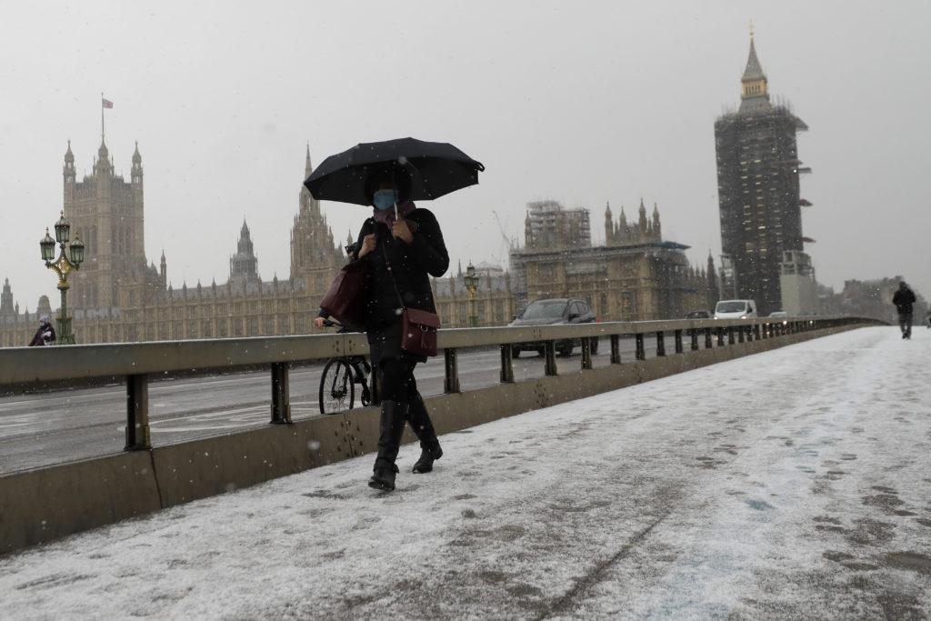 Πολικό ψύχος στη Βρετανία με θερμοκρασίες που φτάνουν τους -23 βαθμούς Κελσίου