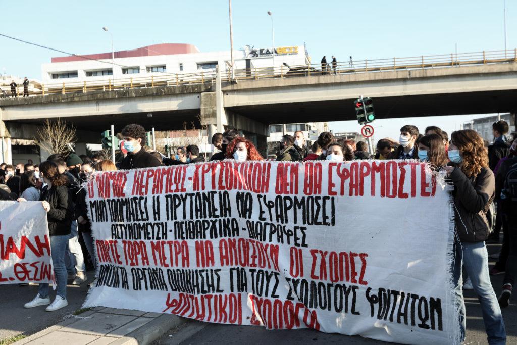 Θεσσαλονίκη: Στον εισαγγελέα οι 31 συλληφθέντες κατά την εισβολή των ΜΑΤ στο ΑΠΘ – Νέες κινητοποιήσεις φοιτητών