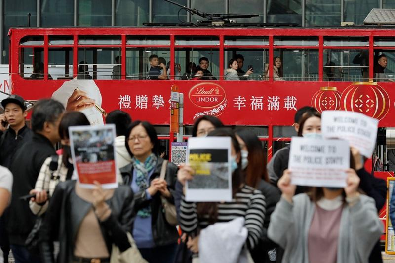 Χονγκ Κονγκ: Διώκονται 47 πολίτες για συνωμοσία και ανατρεπτικές ενέργειες