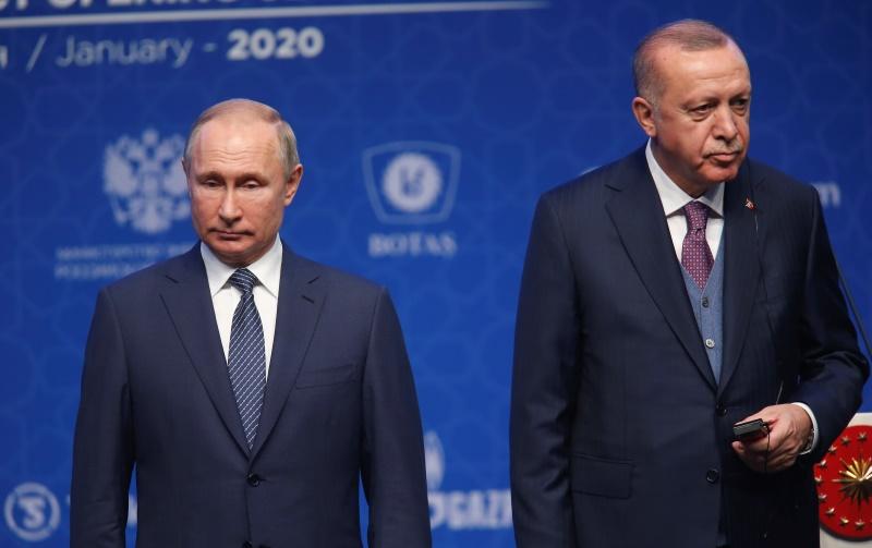 Την Πέμπτη 5 Μαρτίου η συνάντηση Πούτιν – Ερντογάν