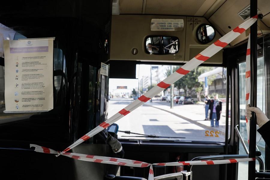 Οδηγός λεωφορείου πέθανε από κορονοϊό – «Σιγή ιχθύος» από ΟΑΣΑ