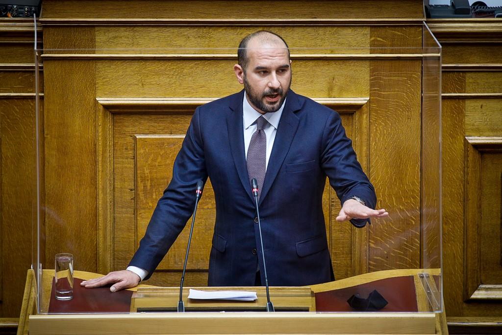 Δημήτρης Τζανακόπουλος: «Πρέπει να ξηλωθεί το κουβάρι των σχέσεων διαπλοκής του Μεγάρου Μαξίμου»