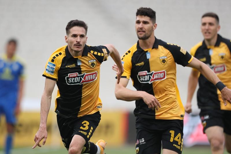 Πλέι οφ Super League: Λύτρωση στο τέλος για την ΑΕΚ, 3-1 τον Αστέρα Τρίπολης