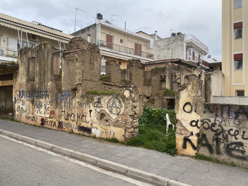 Ερειπωμένη ιστορική μνήμη- Η περίπτωση του σπιτιού του Μακρυγιάννη στο Άργος