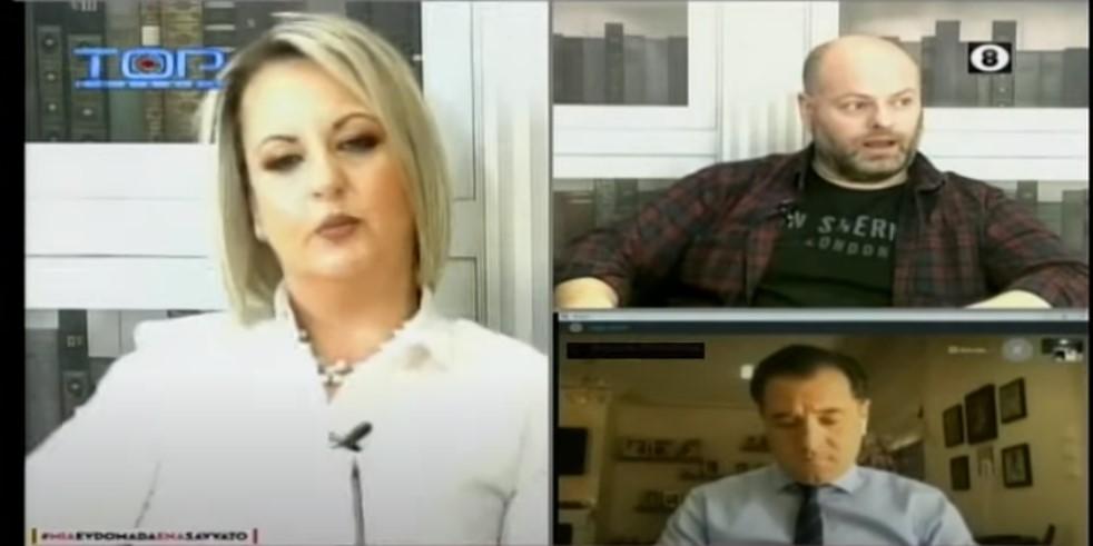 Κοζάνη: Επεισοδιακή συνέντευξη Άδωνη Γεωργιάδη σε τοπικό κανάλι (video)