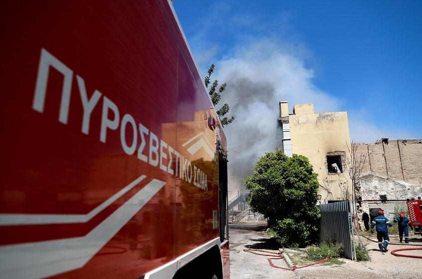 Χαλκιδική: Πυρκαγιά σε δασική έκταση στη Δουμπιά