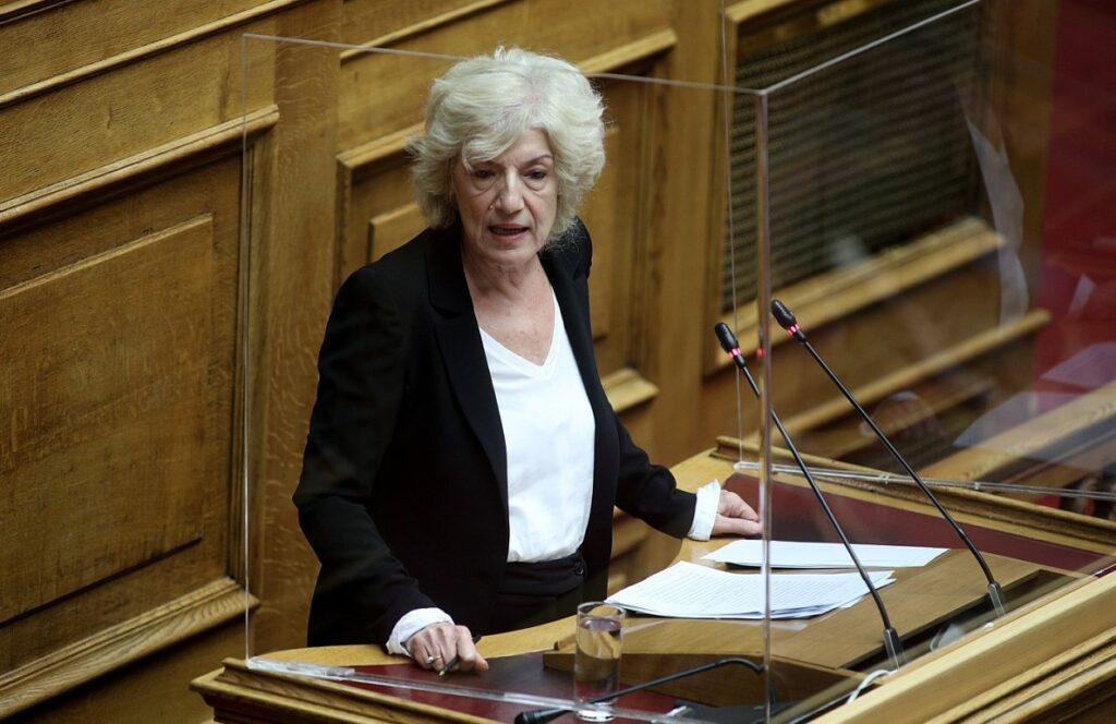 Αναγνωστοπούλου: «Συνεχίζεται ο εμπαιγμός της κυβέρνησης προς τον κόσμο του Πολιτισμού»