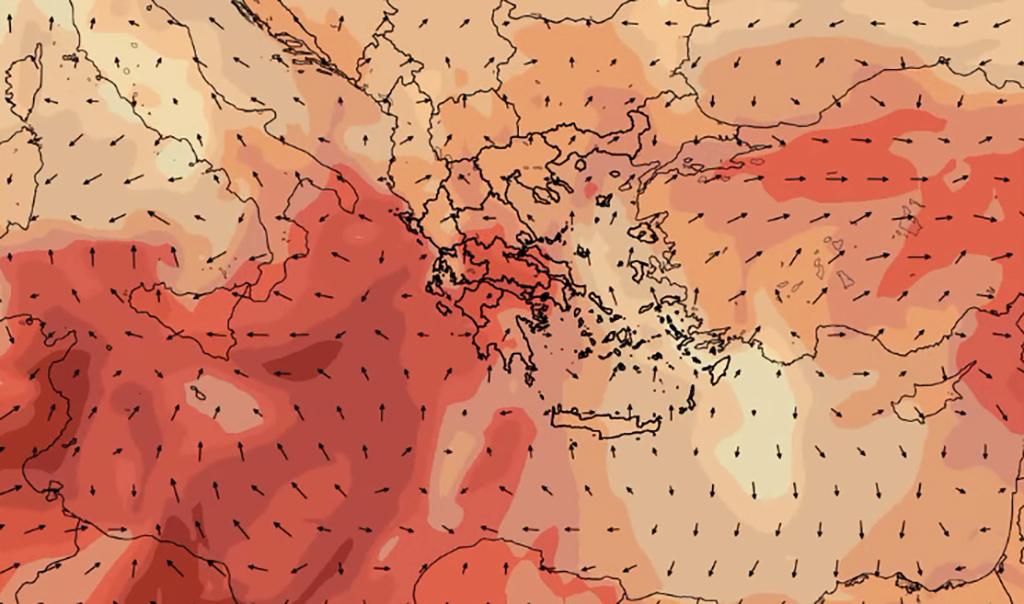 Καιρός: Υψηλές θερμοκρασίες και αφρικανική σκόνη (Video)