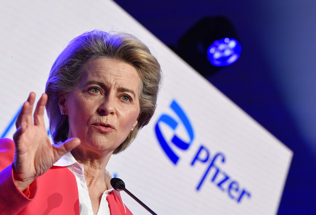 Στη γραμμή Μπάιντεν και η Ούρσουλα φον ντερ Λάιεν: Η ΕΕ είναι έτοιμη να συζητήσει άρση της πατέντας