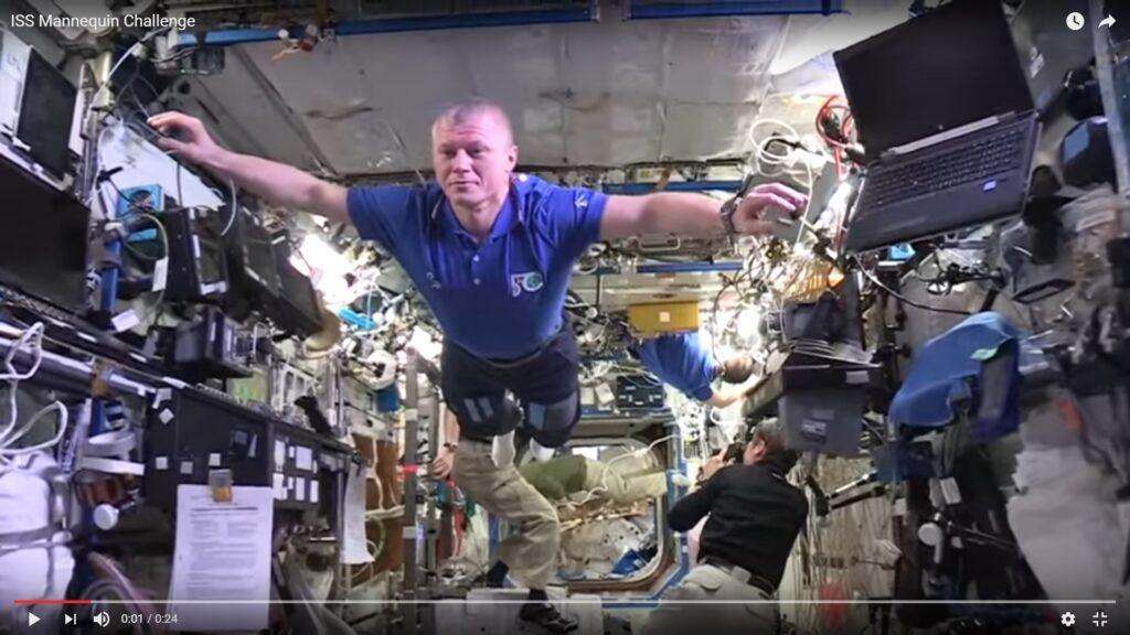 Διαστημικό «Mannequin Challenge»