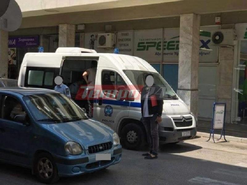 Αυτοκίνητο της αστυνομίας παρέσυρε γυναίκα στην Πάτρα
