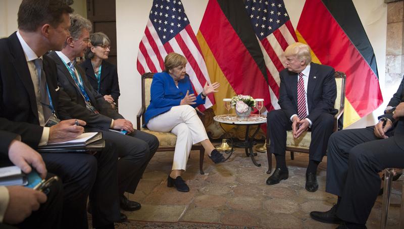 Ιταλία: Μέρκελ και Τραμπ ακύρωσαν τη συνέντευξη Τύπου στη G7