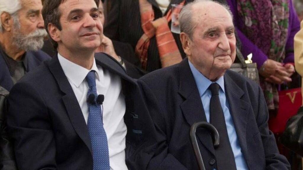 Τι έγραψε ο Κυριάκος Μητσοτάκης για το θάνατο του πατέρα του (Photo)