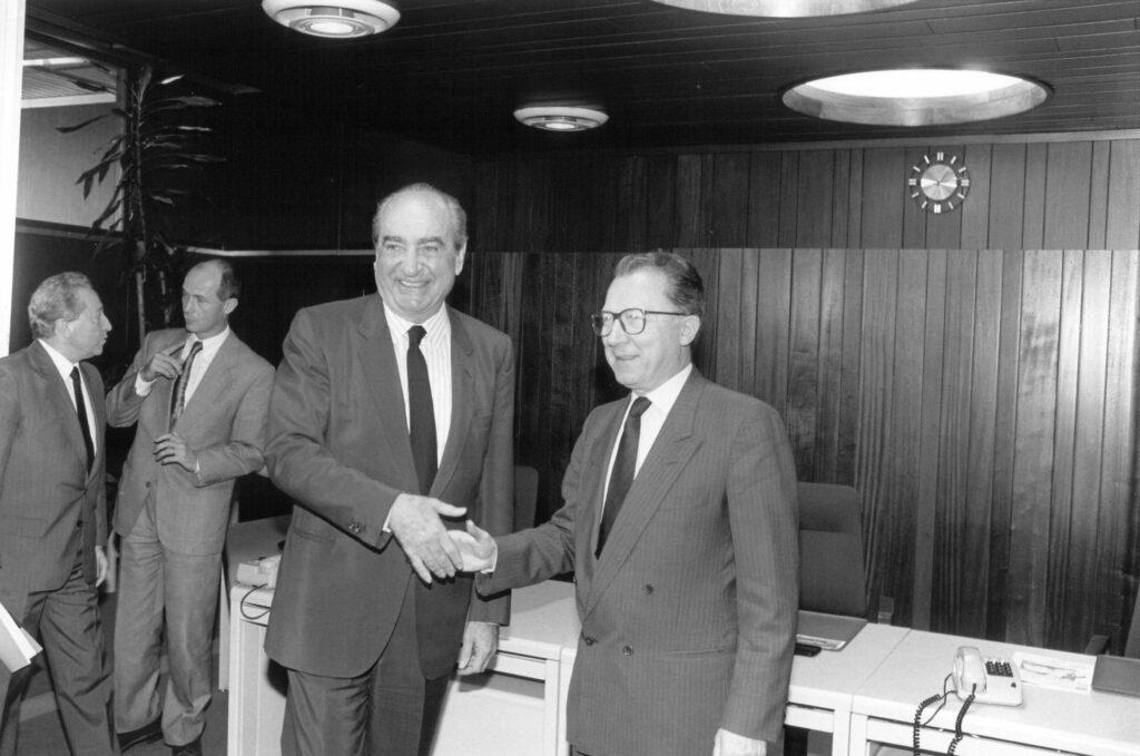 Γιούνκερ: Ο Κωνσταντίνος Μητσοτάκης ήταν εμβληματική φυσιογνωμία και ευρωπαϊστής
