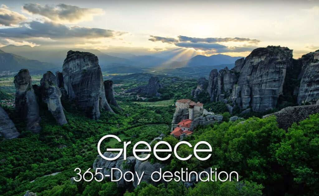 Νέα πρωτιά του βίντεο του ΕΟΤ «Greece-A 365-Day Destination» σε διεθνή διαγωνισμό