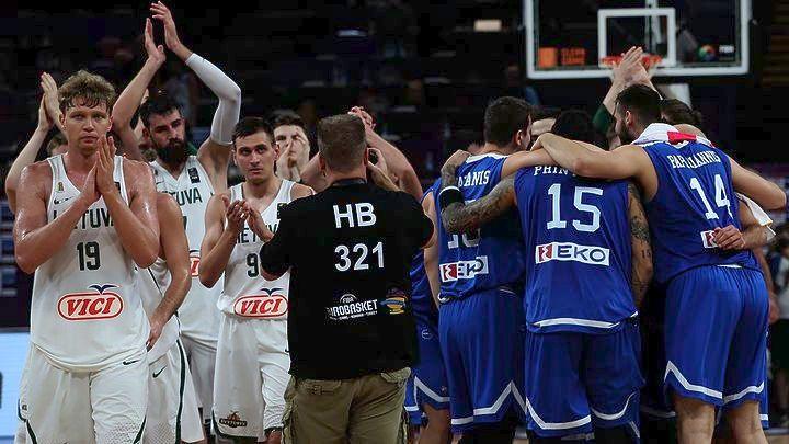 Ελλάδα – Ρωσία το απόγευμα για την πρόκριση στα ημιτελικά του Eurobasket