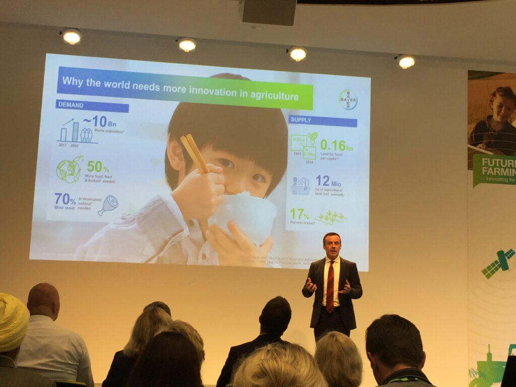 O Τομέας Επιστήμης Γεωργίας της Bayer AG έτοιμος να ανταποκριθεί στις μελλοντικές ανάγκες του καταναλωτή, της αγοράς και της κοινωνίας