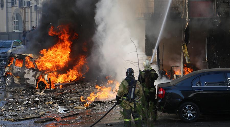 Στις φλόγες ξενοδοχείο στη Ρωσία – Δύο νεκροί