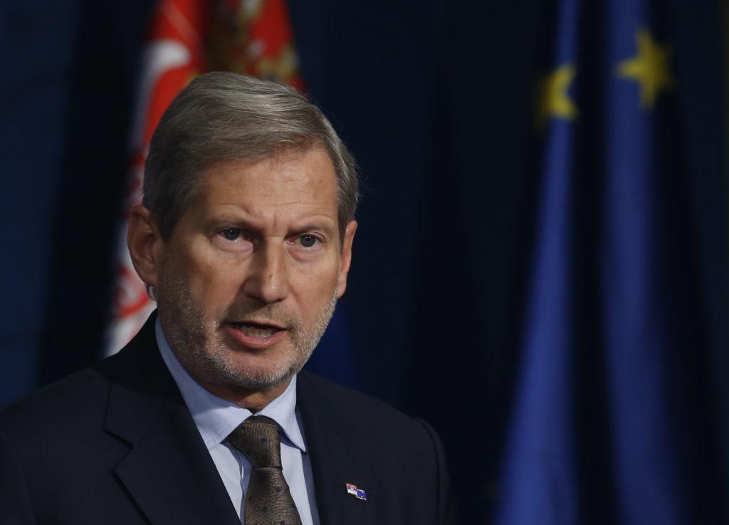 Χαν: Σε πρώτη φάση δεν συζητείται ένταξη της πΓΔΜ στην Ε.Ε