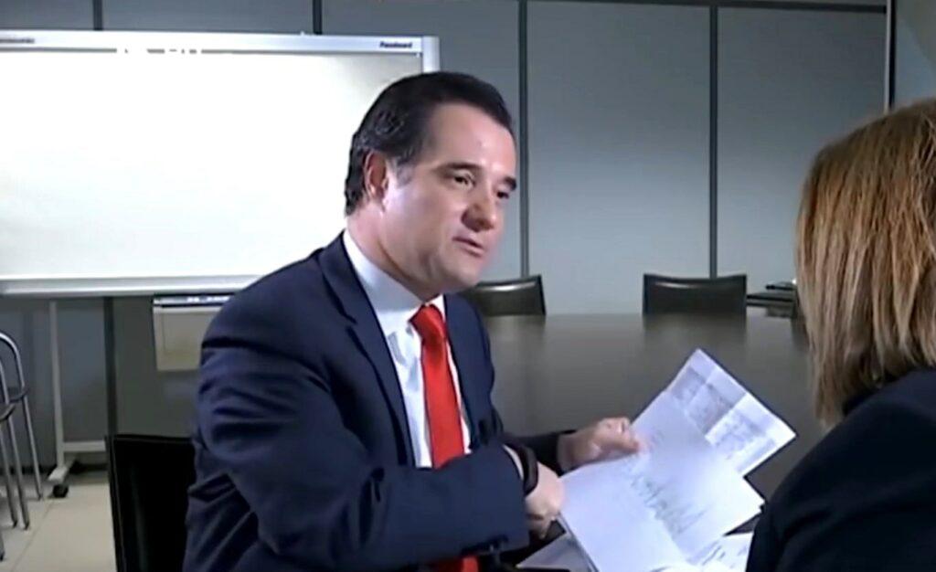 Ο Άδωνης παραδέχεται «κατά λάθος» πως επί υπουργίας του η Novartis πήρε 65 εκατ. ευρώ! (Video)