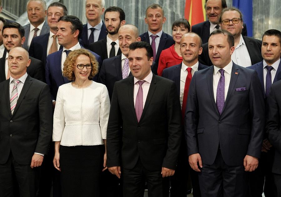 Ακόμη και σήμερα στο κοινοβούλιο της πΓΔΜ η συμφωνία