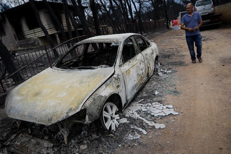 FAZ: «Συνυπεύθυνοι οι δανειστές» για την ανείπωτη καταστροφή στην Αττική;