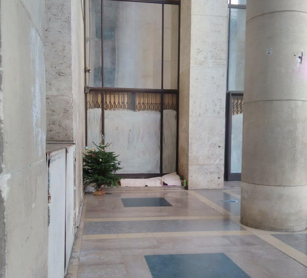 Αθήνα – Παρίσι, η παράλληλη ιστορία δυο άστεγων και ενός χριστουγεννιάτικου δέντρου
