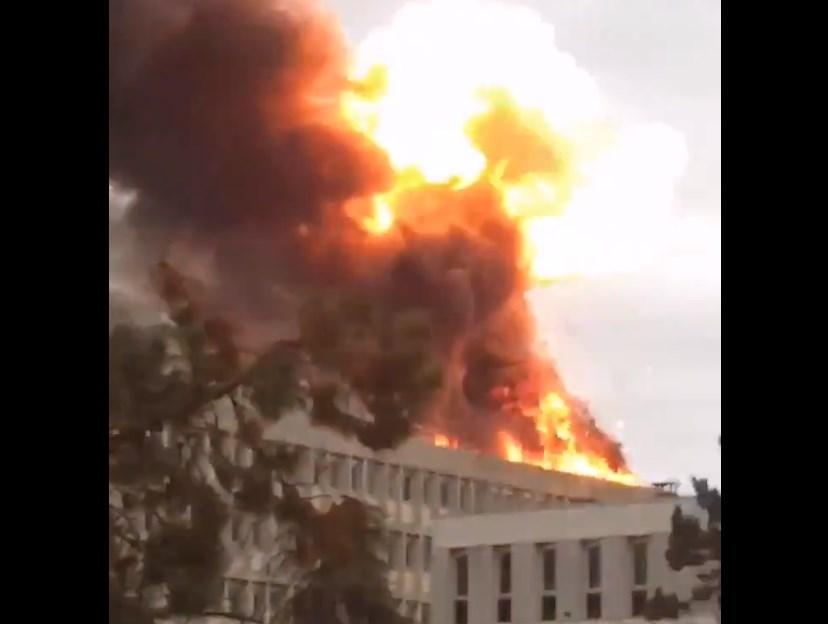 Γαλλία: Μεγάλη έκρηξη στο Πανεπιστήμιο της Λιόν (Photos – Video)