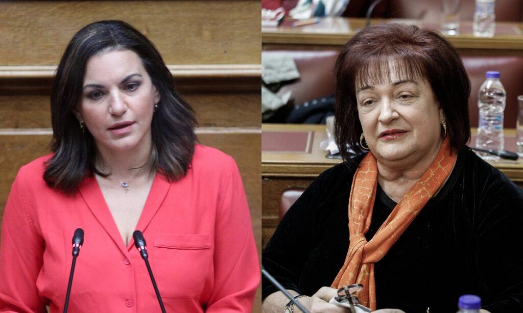 Γιαννάκου και Κεφαλογιάννη καταψήφισαν το νομοσχέδιο για τη συνεπιμέλεια