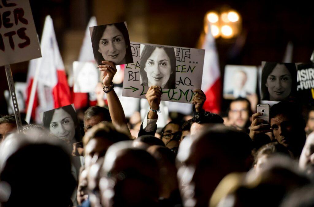 Νομικός γολγοθάς για την πληροφοριοδότρια της δολοφονημένης δημοσιογράφου Γκαλίζια
