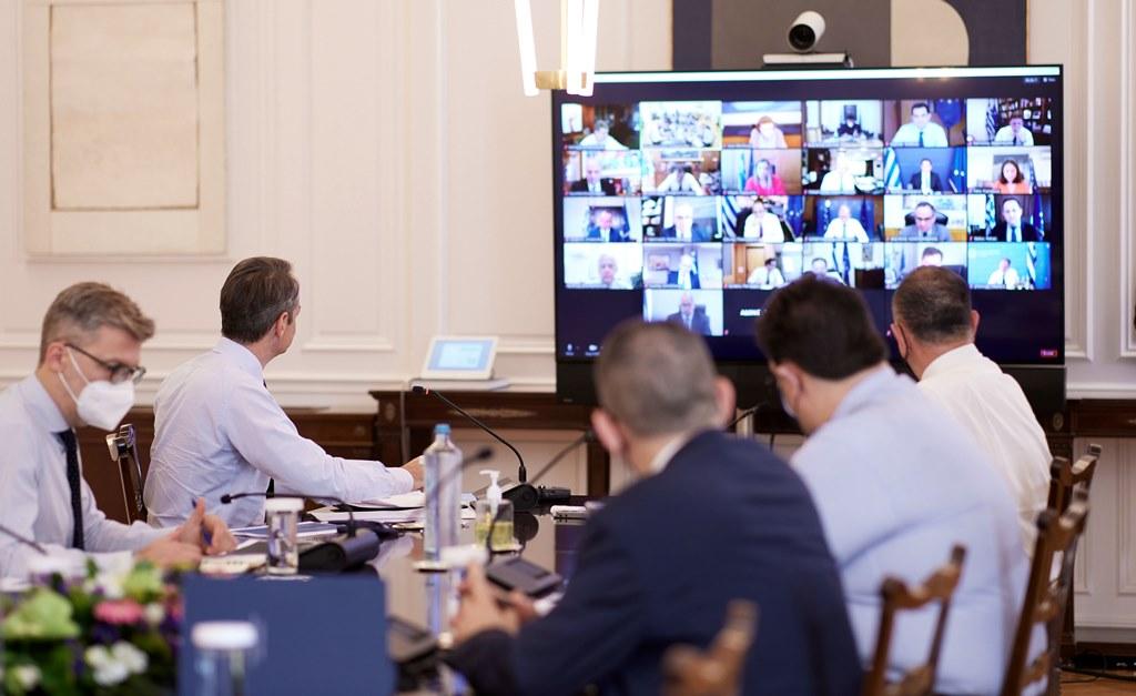 Στην πανεπιστημιακή αστυνομία και το ψηφιακό πιστοποιητικό αναφέρθηκε ο Κυριάκος Μητσοτάκης στο Υπουργικό Συμβούλιο