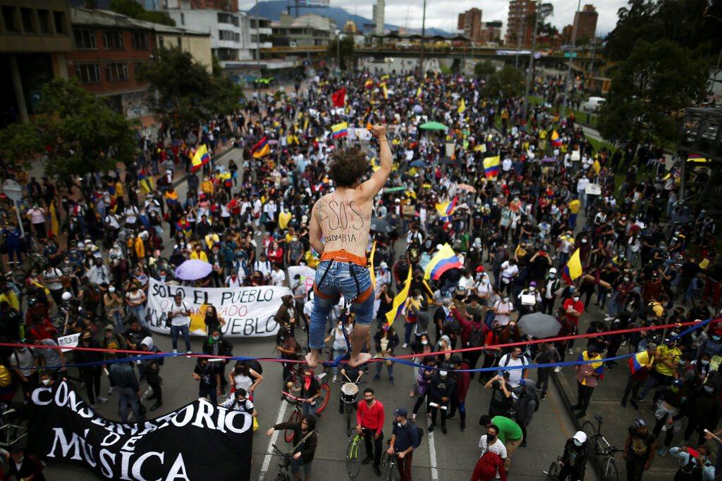Κολομβία: Αντικυβερνητικές διαδηλώσεις για 15η ημέρα